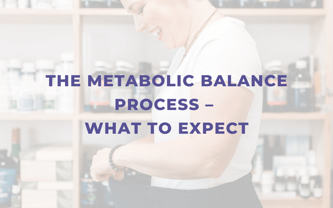 The Metabolic Balance Process – What To Expect