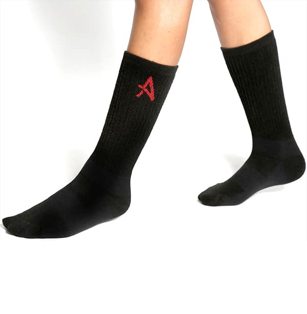 Mid-length socks