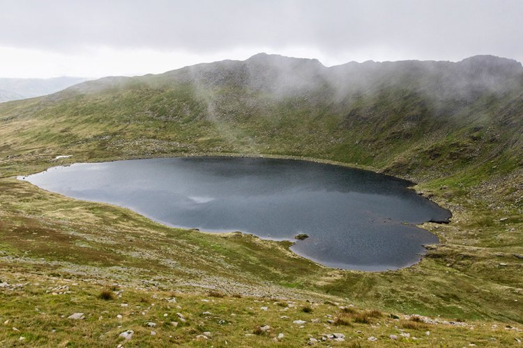 Red Tarn from Swirral Edge