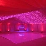 Düğün Duvar Kumaş Kaplama Süsleme