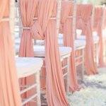 Sandalye Tül Süsleme