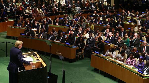 سخنرانی ترامپ در مجمع عمومی سازمان ملل