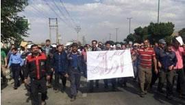 اعتصاب در آذرآب