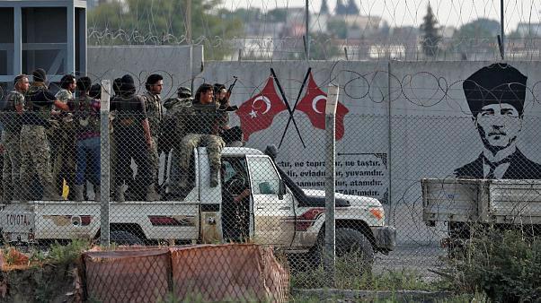 نظاميان ترکيه در شمال سوريه