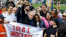 آزادی لولا داسيلوا از زندان
