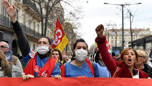اعتصاب سراسری در فرانسه