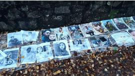 اعتراض در مقابل سفارت جمهوری اسلامی در دوبلين