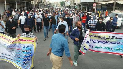 بيست و چهارمين روز اعتصاب کارگران هفت تپه