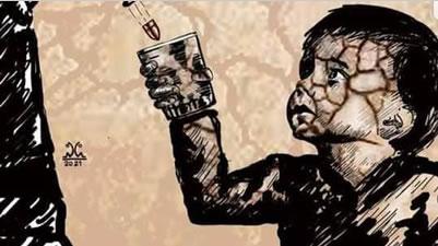 من گلوله نه؛ آب میخواهم (به فارسی و ترکی آذربایجانی) - مسعود آذر