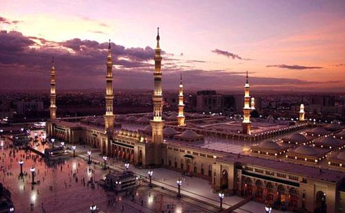 Indahnya Masjid Nabawi
