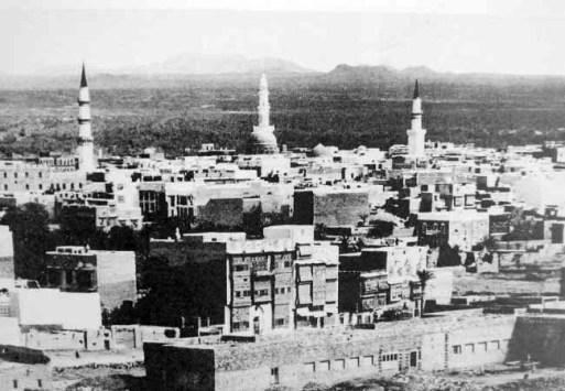 Masjid Nabawi tempo doeloe