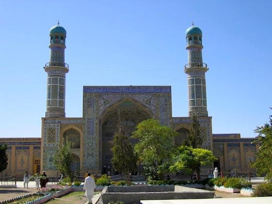 Blue Mosque in Herat  Afghanistan