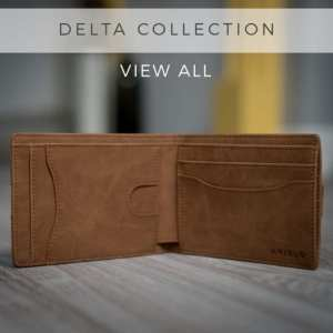 AKIELO Delta Wallet Bifold Mens Wallet Collection