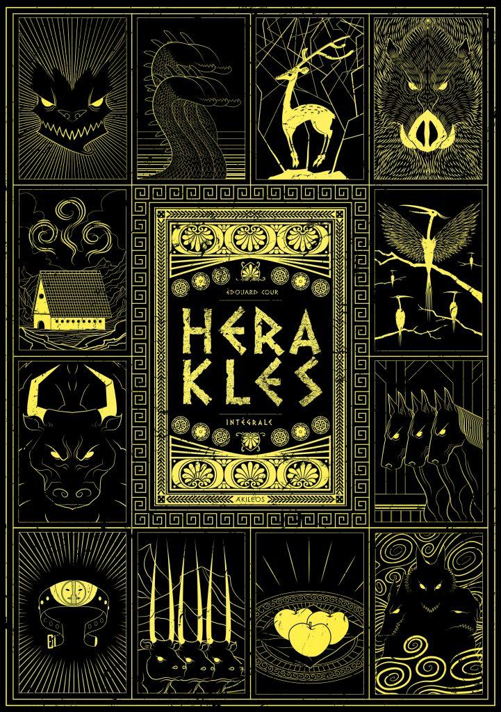 Herakles – Intégrale - couverture