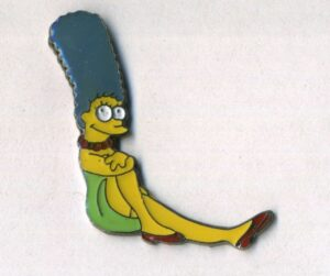 Les Simpsons, Marge assise