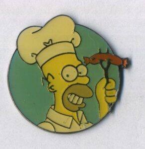 Les Simpsons, Homer - barbecue