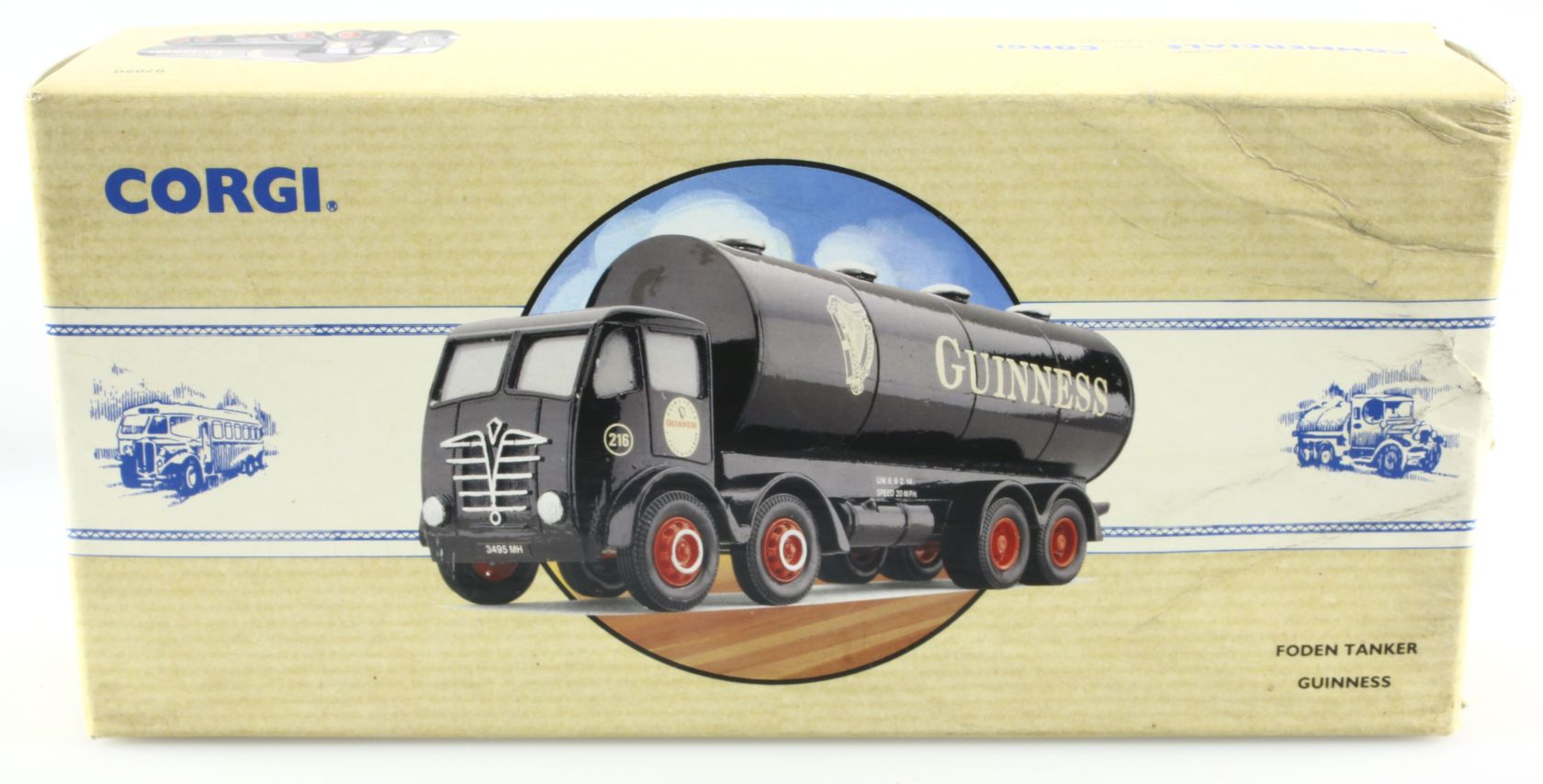 Camion Foden citerne Guinness 1/50