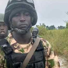 See The Face of gallant Soldier Who Killed his mates before committing suicide In Borno (Photo)