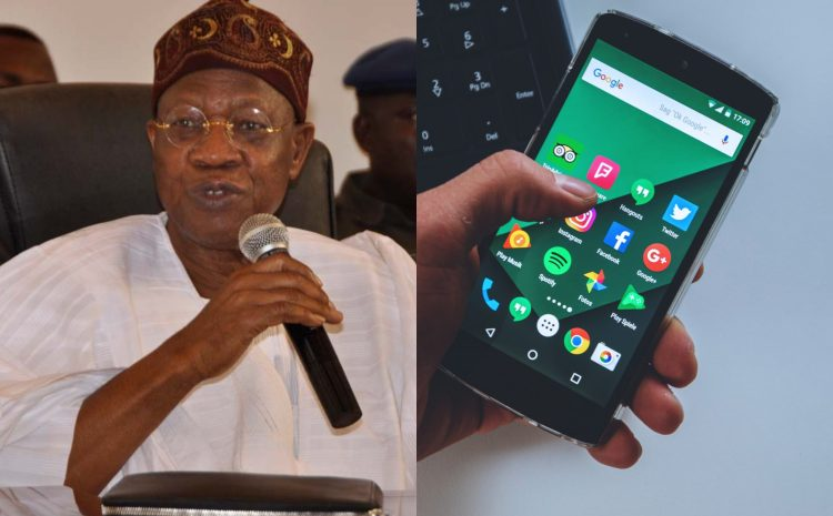 There Is No Going Back On Social Media Regulation – Lai Mohammed