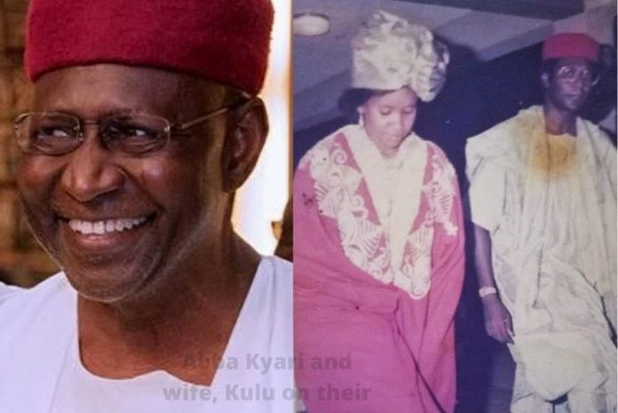 Throwback Picture of Late Mallam Abba Kyari And Wife On Their Wedding Day Spotted