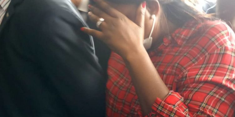 See Photos Of Popular Nigerian Actress, Funke Akindele And Husband In Court Today