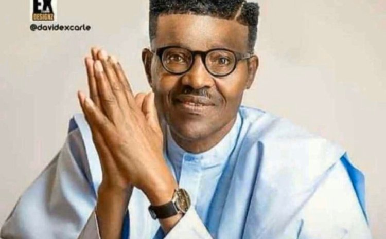 See the trending photo of Buhari that got Nigerians talking on twitter