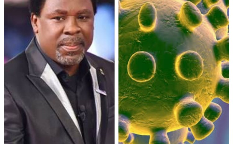 This is your end – TB Joshua assures Nigerians as he prays against COVID-19 on a mountain
