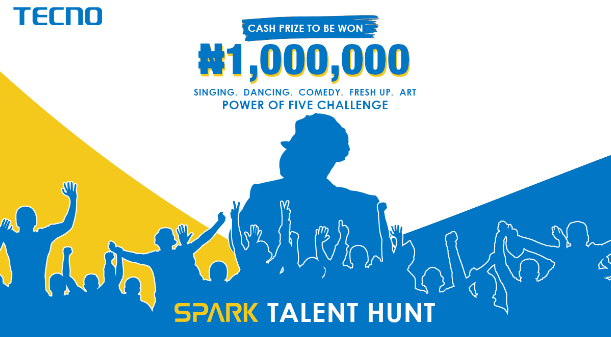 ₦1M and TECNO Spark 5 Up for Grabs in Spark Talent Hunt 2.0