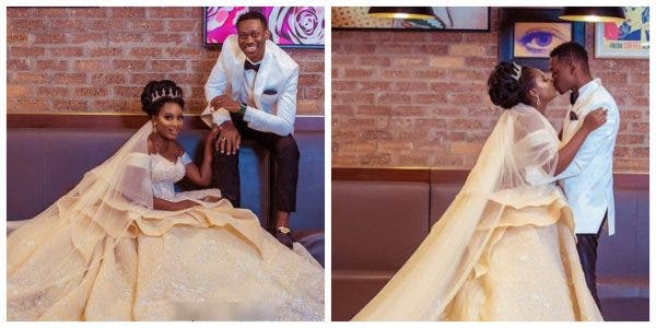Nollywood actors Lateef Adedimeji and Adebimpe Oyebade wed lailasnews 9 600x300 1 - See The Romantic Second Lateef Adedimeji Sang For His Bride Earlier than Exchanging The Vows
