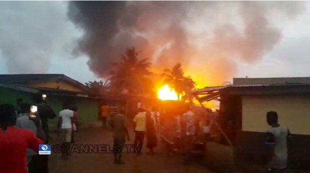 BREAKING NEWS: Eight Killed In Lagos Gas Plant Explosion