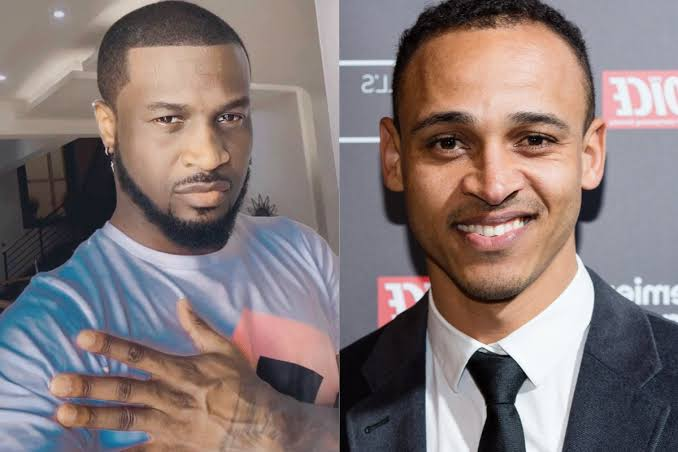 See What Osaze Odemwingie Said In Video As He Apologizes to Peter Okoye For Calling Him On Instagram