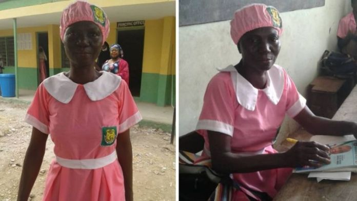 Meet The 50-year-old Nigerian Mother Who Enrolled In JSS2 At Ilorin Grammar School