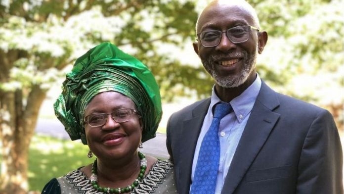 Ngozi Okonjo Iweala: Meet The Husband of The First Woman To Be World Trade Organisation Director General