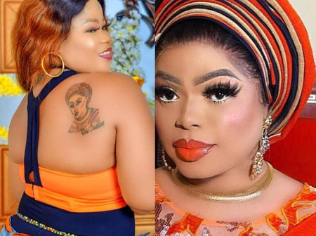 4 Nigerian Celebrities Whose Fans Have Honoured With Tattoos - bobrisky