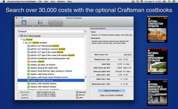Building Cost Estimator App for Real Estate Investment Sites