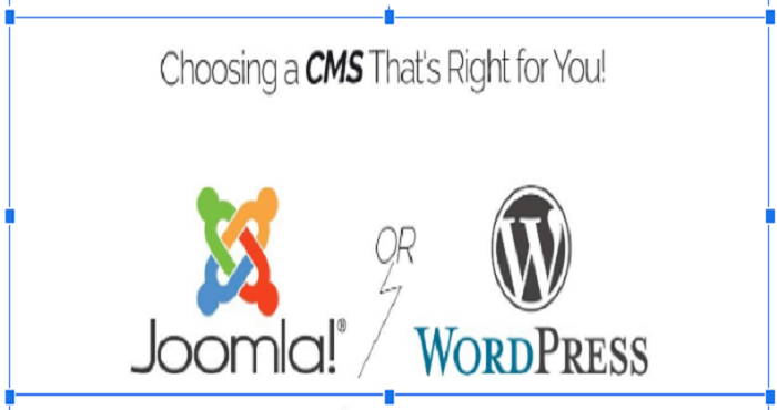 Joomla or WordPress CMS