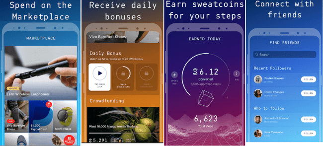 Sweatcoin App to Earn Free Money Online