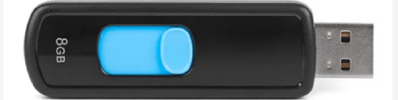 Formatted USB Drive