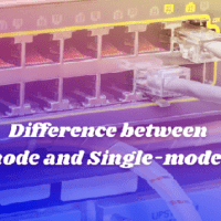 Difference between Multimode Fiber and Single-mode Cables