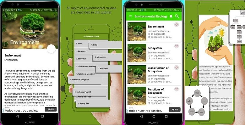 Free Ecology and Environmental Science Courses Apps