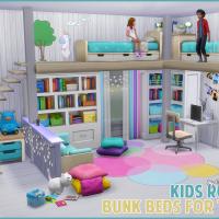 Kinderzimmer: Hochbetten für Zwei