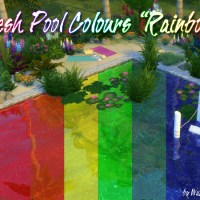 "Fresh Pool Colours ""Regenbogen"""