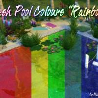 "Fresh Pool Colours ""Regenbogen"""