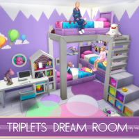 Triplets Dream Room ( no cc)