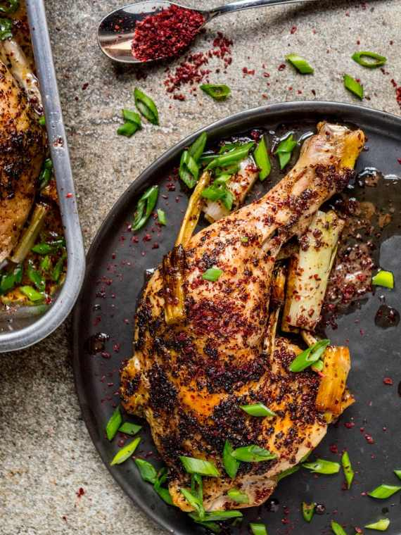 Roast sumac chicken - recipe / A kitchen in Istanbul
