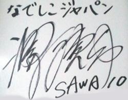 なでしこジャパン・澤穂希選手の筆跡にみるリーダーシップ