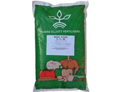 Thomas Elliot Rose Food Fertilisers - AK Kin Garden Supplies