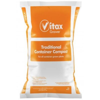 Vitax Traditional Container Compost 75ltr - AK Kin Garden Supplies
