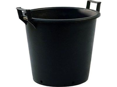 90lt Extra Large Heavy Duty Plastic Tree & Shrub Container Plant Pot with Handles 60 x 48