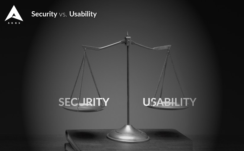 security vs usability